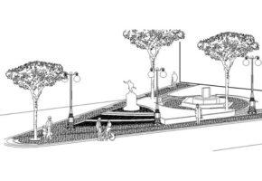 Prospettiva villa comunale