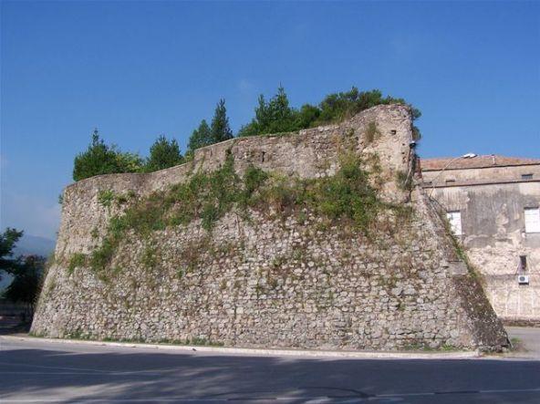 Il Castrum di Conca - particolare del giardino pensile