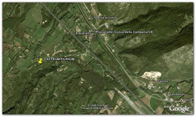 Castrum Pilanum, ipotesi di localizzazione a Santo Janni