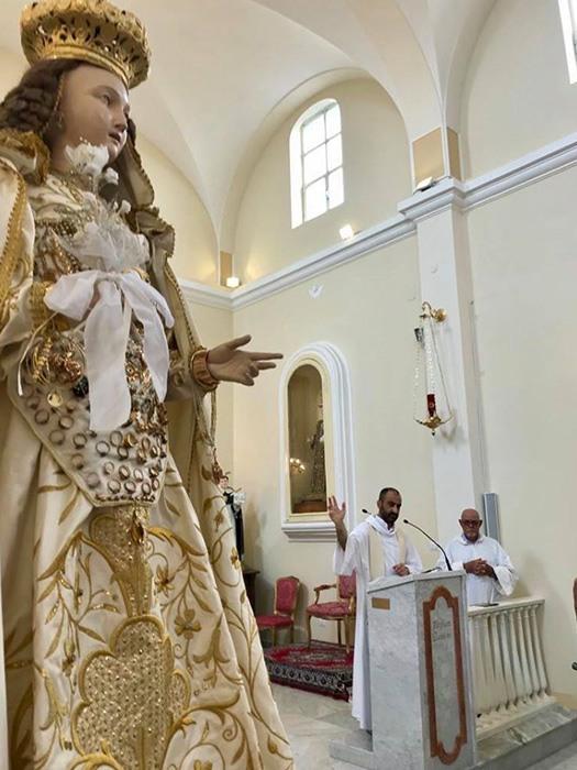 Chiesa di San Pietro Martire ad Orchi - Interni dopo il 2015
