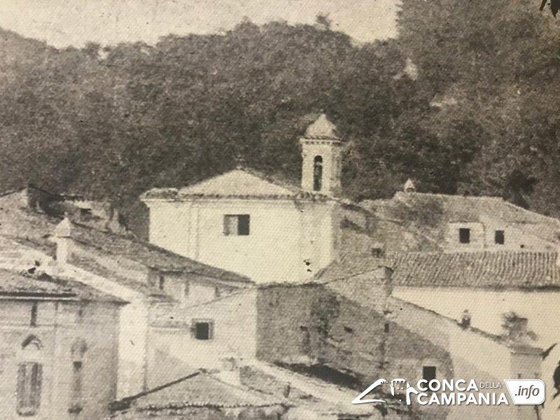 La chiesa di San Pietro Martire di Orchi agli inizi del XX secolo - Archivio Enrico D'Alessandro
