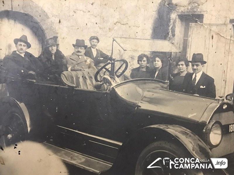 La Famiglia Cinquegrana in una foto degli inizi del XX secolo - Archivio Enrico D'Alessandro