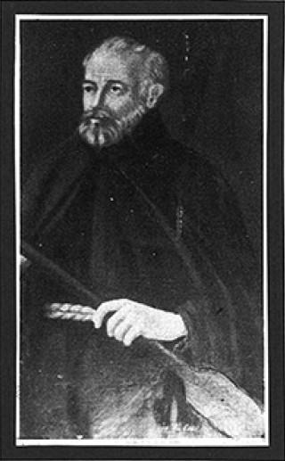 Frate Francesco da Conca  - Tela di P. G. Comparelli