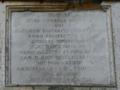 Palazzo Cinquegrana Orchi – Lapide che ricorda l'intervento di Andrea Cinquegrana