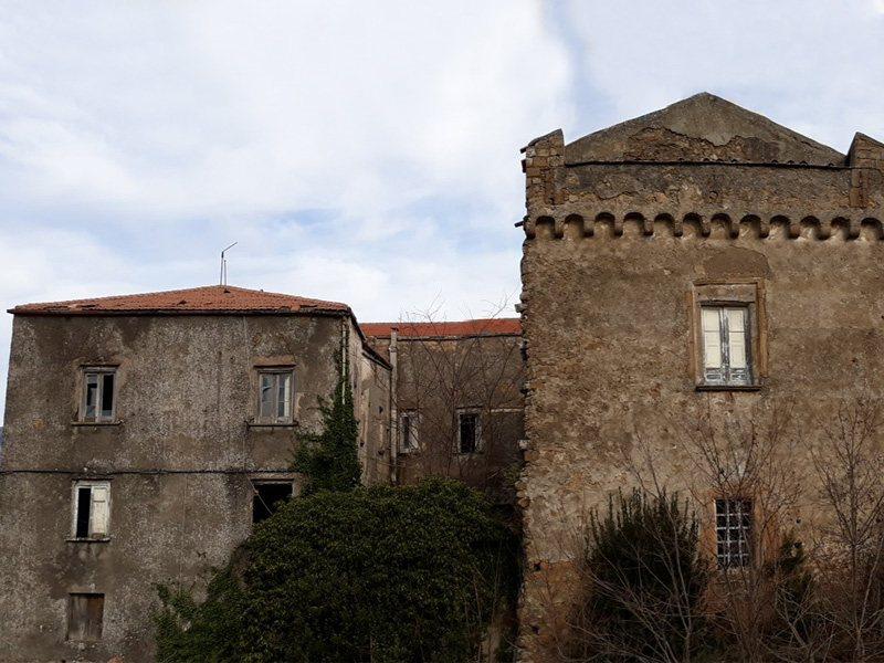 Castello di Conca della Campania - il palazzo principesco