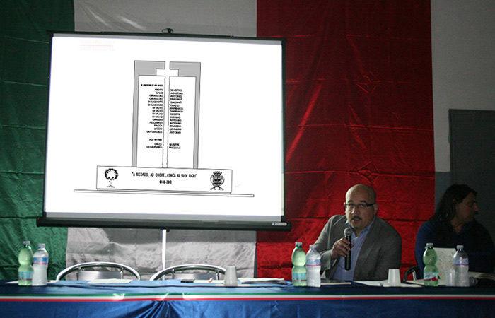 Presentazione monumento Cave - Arch. Gennaro Farinaro