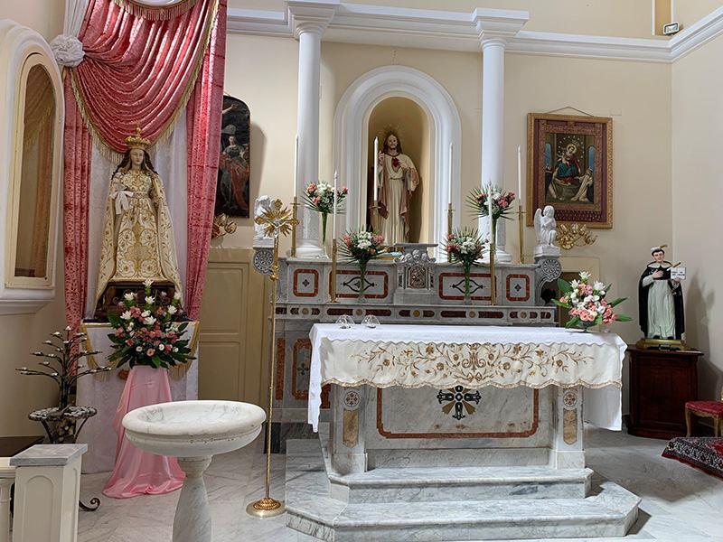 Chiesa di San Pietro Martire Orchi - interni dopo gli interventi del 2015