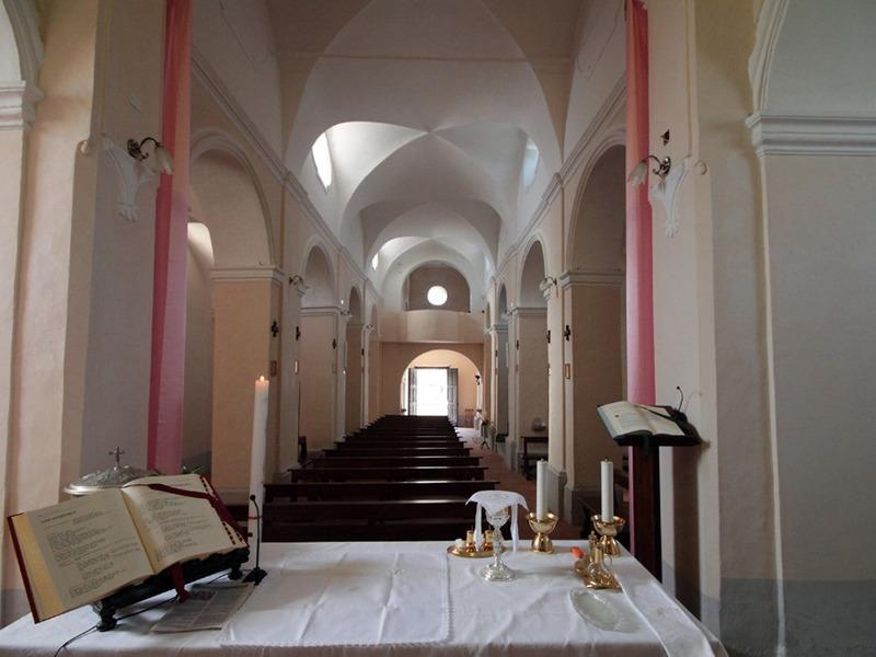 Interni Santuario Madonna della Libera - Conca della Campania