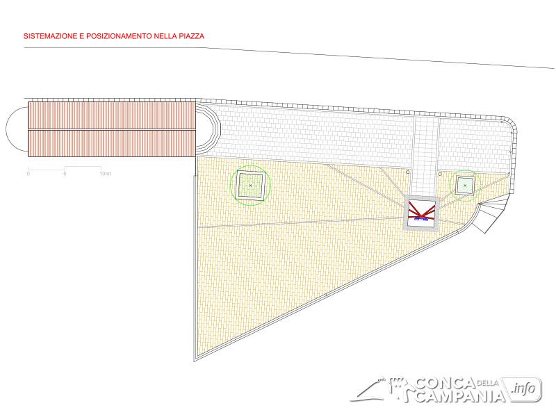 Il progetto di pavimentazione di Piazza Chiesa a Cave - Gennaro Farinaro