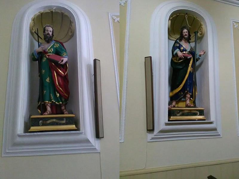 Statue dei Santi Filippo e Giacomo