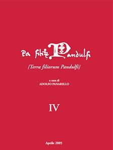 Terra filiorum Pandulfi - Adolfo Panarello