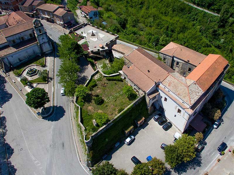 Il Castello di Conca della Campania - Foto aerea di Marco Cirillo