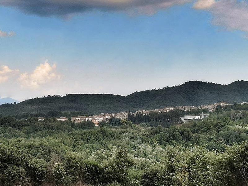 Panorama di Cave (Foto di Ivan Comparelli)