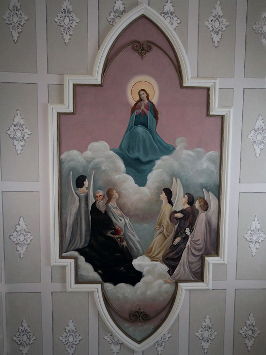 Chiesa di Sant'Antonio Abate - affresco del soffitto