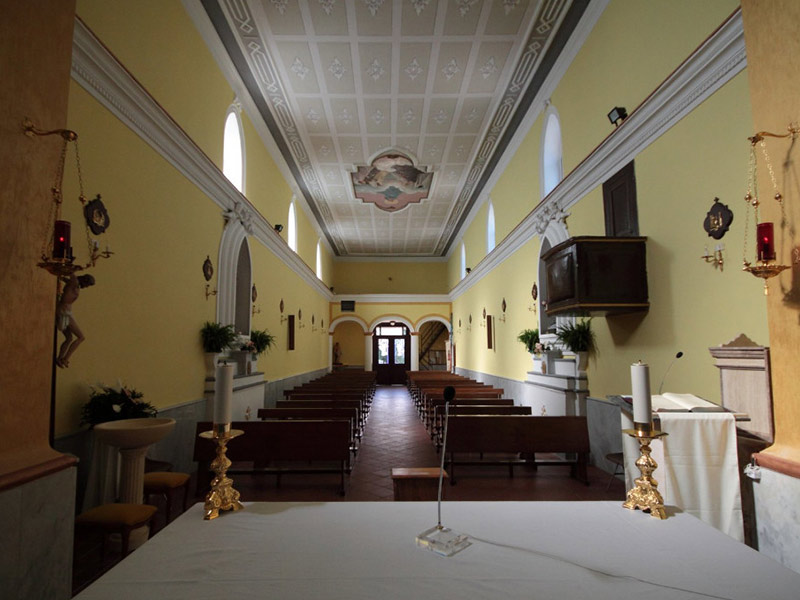 Chiesa di Sant'Antonio Abate - interni