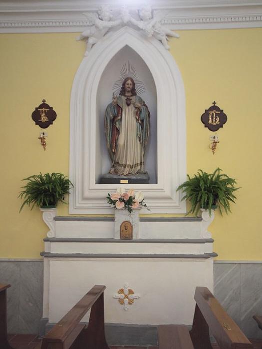 Chiesa di Sant'Antonio Abate - Statua del Sacro Cuore di Gesù