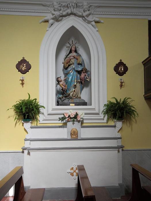 Chiesa di Sant'Antonio Abate - Statua della Vergine Immacolata
