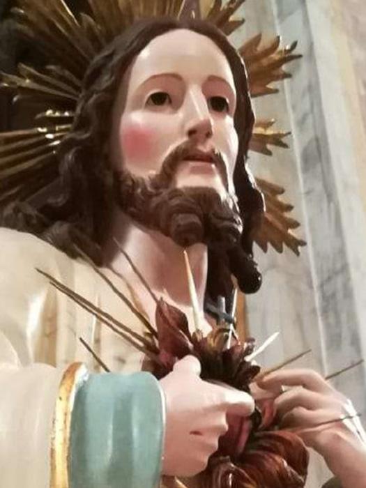 Sacro Cuore di Gesà a Terlizzi - particolare