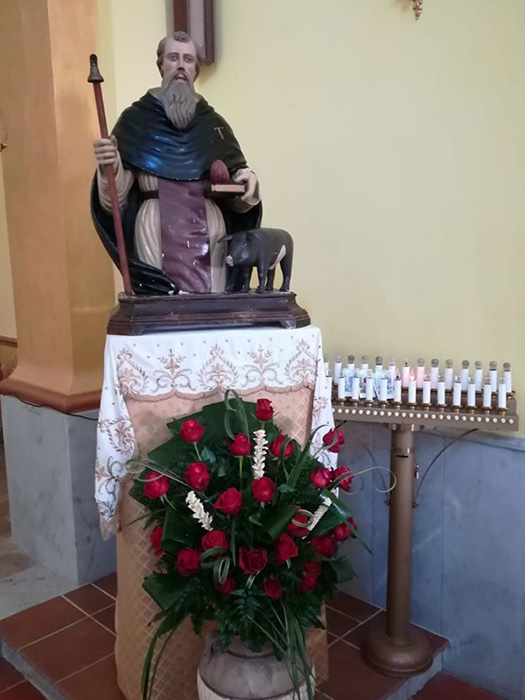 Busto di Sant'Antonio Abate