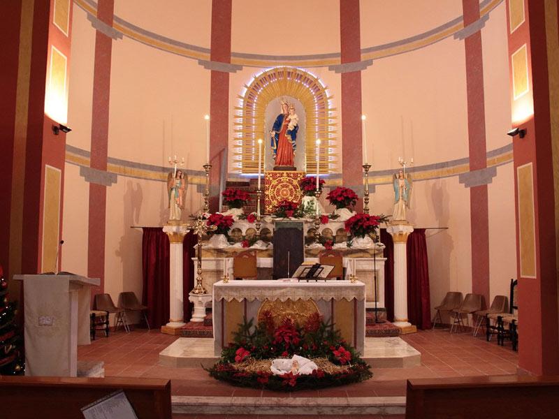 Chiesa Santa Maria delle Grazie - Altare maggiore