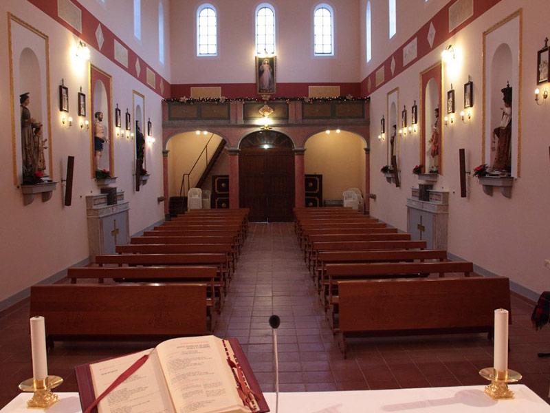 Chiesa Santa Maria delle Grazie - Interni