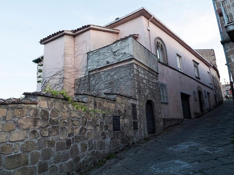 Scorcio di Palazzo Saraceni