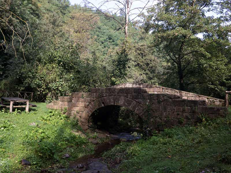 Il ponte in pietra sul Rivo - Foto di Domenico Feola