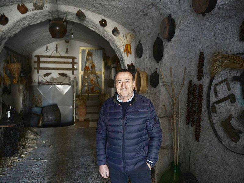 Carmine Calce, fondatore del Museo (Foto di Alessandro Santulli)
