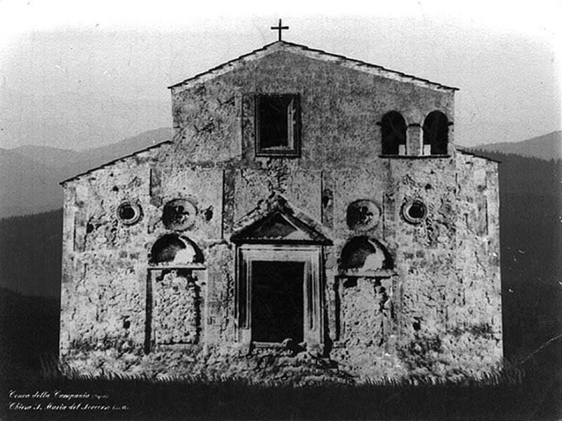 Chiesa di Santa Maria del Soccorso - Cartolina dei primi del XX secolo