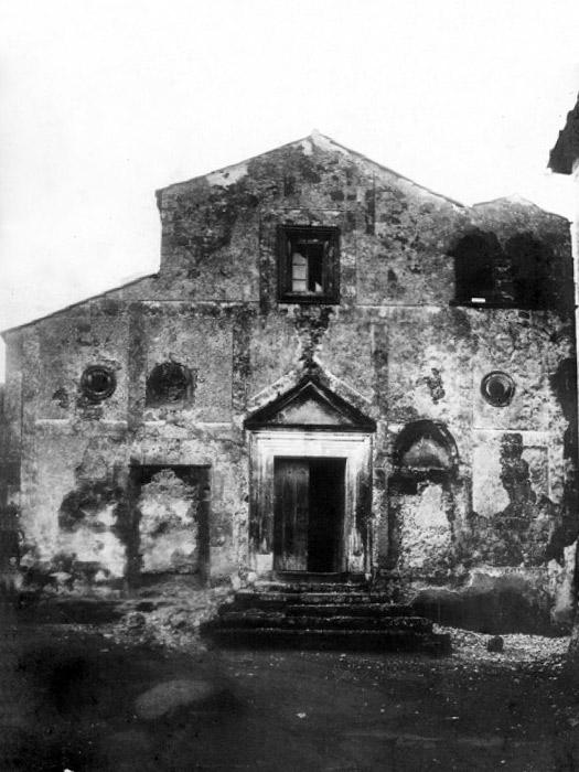 Chiesa di Santa Maria del Soccorso agli inizi del XX secolo