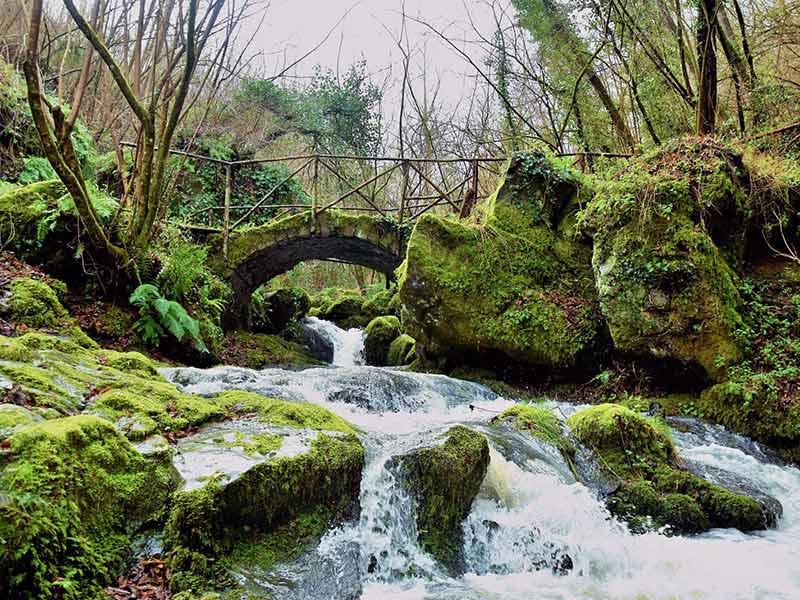 Ponte sul Rivo in località Lieti