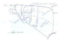 Punto di stazione e dislocazione zona servizi – Vezzara