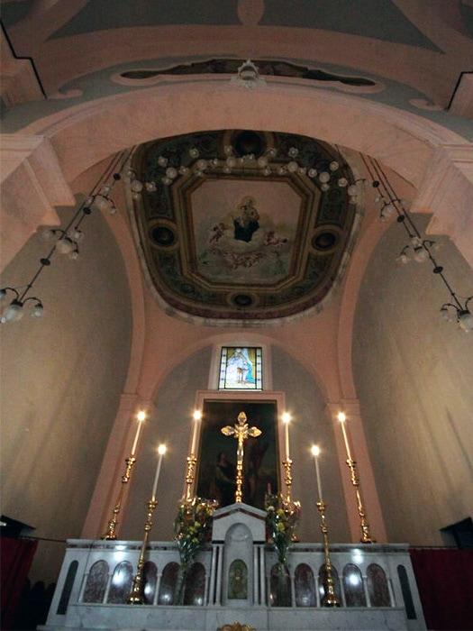 Chiesa dell'Annunziata di Conca della Campania - Abside