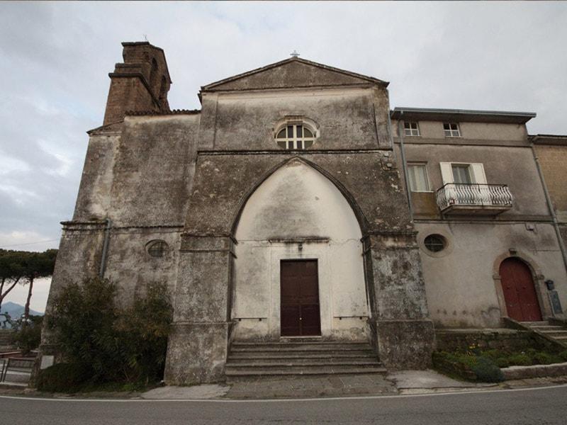 Chiesa dell'Annunziata di Conca della Campania - La facciata