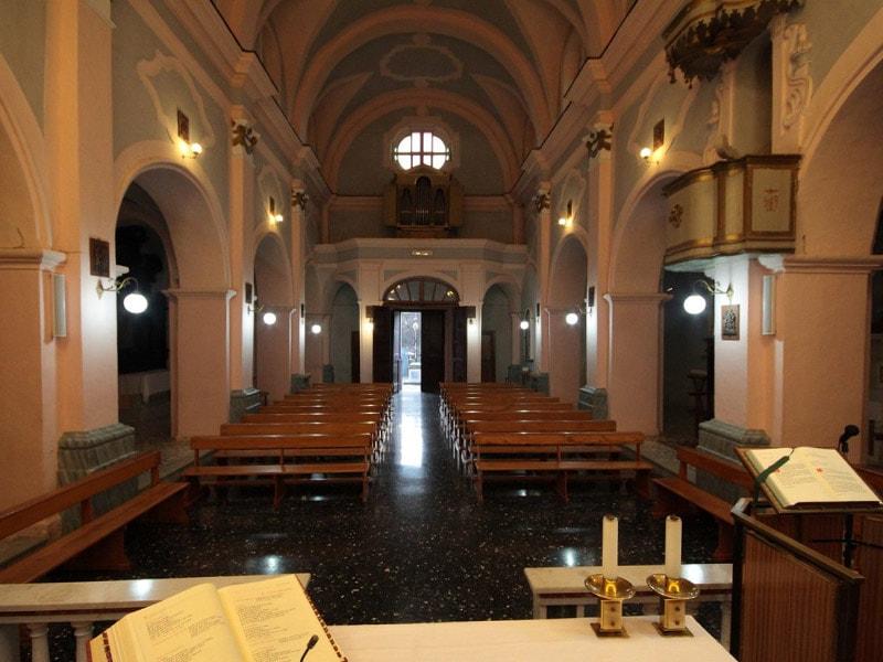 Chiesa dell'Annunziata di Conca della Campania - Interni