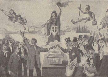 Immagine di copertina: cartolina comizi generali giugno 1900