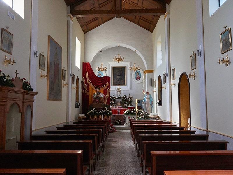 Chiesa Santa Maria delle Grazie a Piantoli - Interni