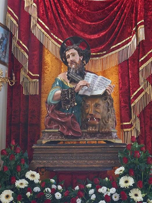Statua di San Marco Evangelista