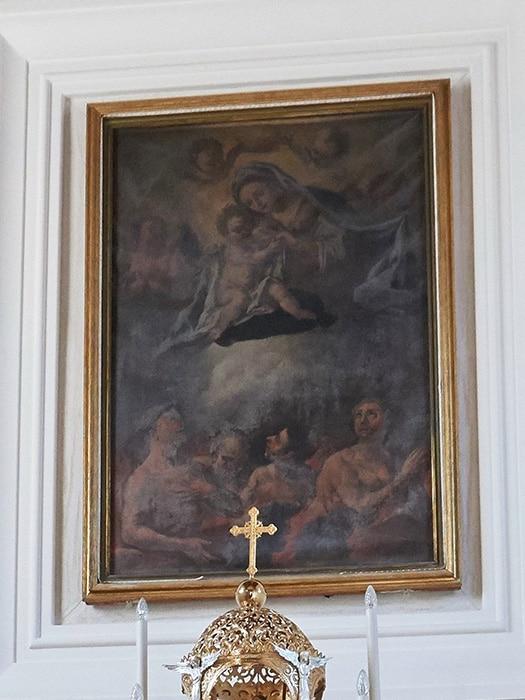 Madonna delle Grazie (D. Guarino, 1735)
