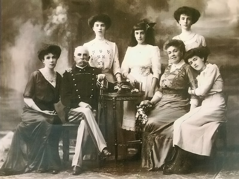 La famiglia del gen. Achille Mazzitelli