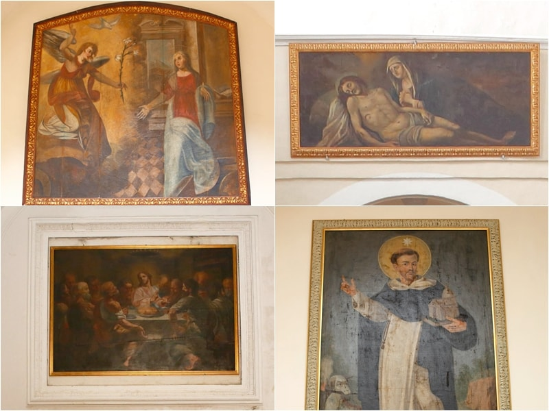 Altre opere d'arte presenti nella chiesa di San Pietro Apostolo di Conca della Campania