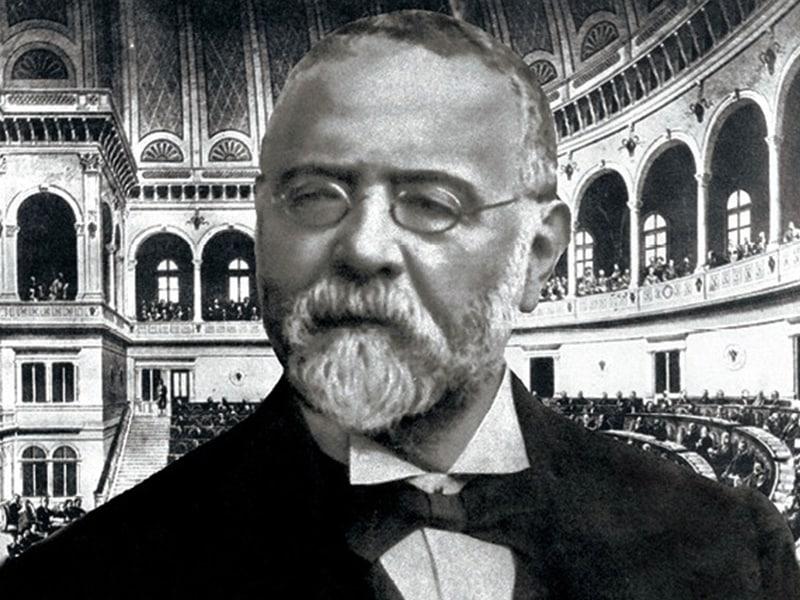 On. Pietro Lacava, segretario generale del Ministero dell'Interno nel 1876
